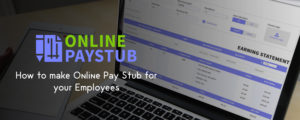 How to make Online Pay Stub for your Employees