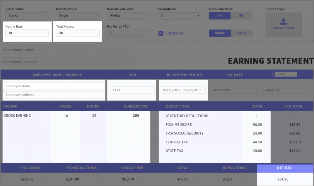 Create a Pay Stub without Accidental Violations leading to PAGA