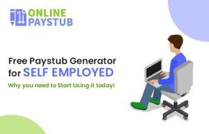 Free Paystub Generator for self Employed