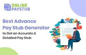 Advance Pay Stub Generator - Accurate & Detailed Pay Stub Generator