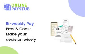 Bi-weekly pay pros and cons - payroll